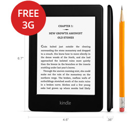 Kindle Paperwhite 3G NZ