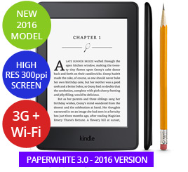 2016 Amazon Kindle NZ Range